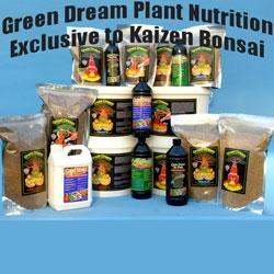 Green Dream Natural Bonsai Tree Fertilisers