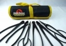 Bonsai Tool Kit - 6 Piece Set of Small Black Carbon Steel Tools