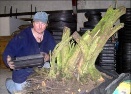 In the Workshop Big Thorn Pot Image 1