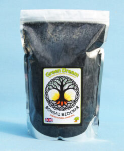 BONSAI BIOCHAR. Graded Straight Horticultural Charcoal (2-8mm)