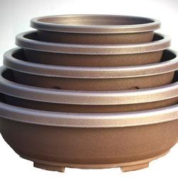 Larger Size Plastic Bonsai Pots - Ovals & Rectangles