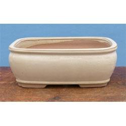 10 inch Glazed Bonsai Pots