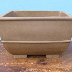 """Larger Size Unglazed Bonsai Pots 12"""" >"""