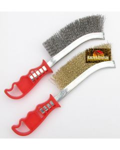 Wire Brush Set - Pair of wire brushes - Bonsai Tools