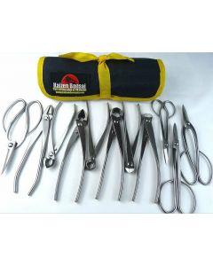 Bonsai Tools Kit - 11 Piece Stainless Steel Tools