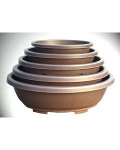 Oval Plastic Bonsai Pots - Various Sizes