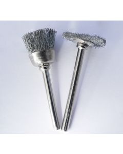 Bonsai & Wood Carving Tools Hardened Steel Rotary Brushes