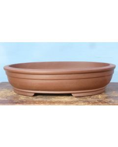 Oval Bonsai Pot - Unglazed Stoneware - 20""