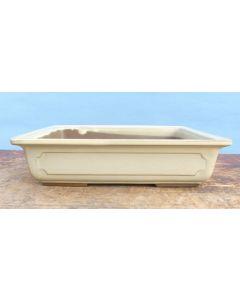 "High Quality Japanese Glazed Bonsai Pot - 9"""