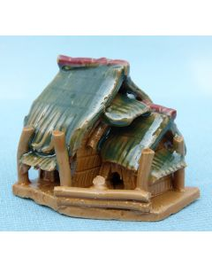 Traditional Thatched Shack - Bonsai / Saikei Ornament