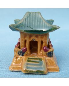 Traditional Temple - Bonsai / Saikei Ornament