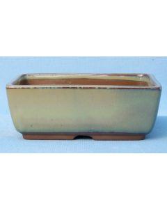 "High Quality Japanese Glazed Bonsai Pot - 6"""