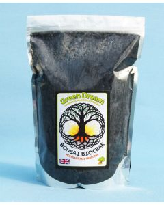 Green Dream Bonsai Biochar - Graded Horticultural Charcoal
