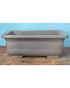 Bonsai Basics - Heavy Rectangular Unglazed Bonsai Pot