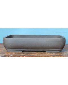 Bonsai Basics - Heavy Shallow Rectangular Unglazed Bonsai Pot