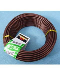 Bonsai Training Craft Wire - Brown Aluminium 500g Coils
