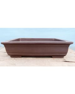 Rectangular Bonsai Pot - Unglazed - 21""