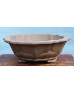 Bonsai Basics - Deep Round Unglazed Bonsai Pot