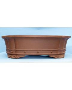 Beautiful Deep Oval Unglazed High Quality Bonsai Pot