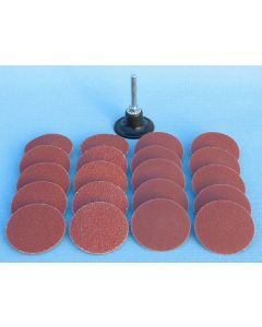21 Piece Quick Change Abrasive Disk Kit CLOSEOUT SPECIAL PRICE
