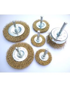 Rotary Wire Brush Pack - Bonsai Carving Tools