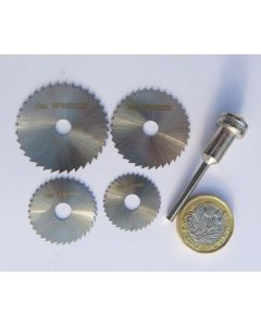 Thin Slitting Saw Disk Graining and Texturing Kit