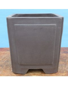 Bonsai Basics - Square Cascade Style Unglazed Bonsai Basics Pot - 6""