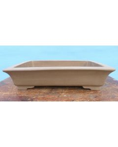 "Rectangular Bonsai Pot - Unglazed - 16"""