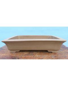 "Rectangular Bonsai Pot - Unglazed - 21"""