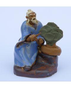 Bonsai Master - Traditional Chinese Shiwan Figure