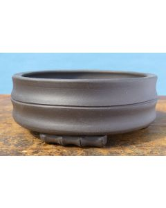 Unglazed Decorative Shohin Bonsai Pot 5""