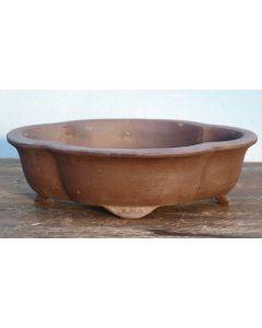 "Bonsai Basics - Oval Unglazed Bonsai Pot - 8"""