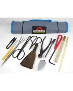 12 Piece Bonsai Tool Kit