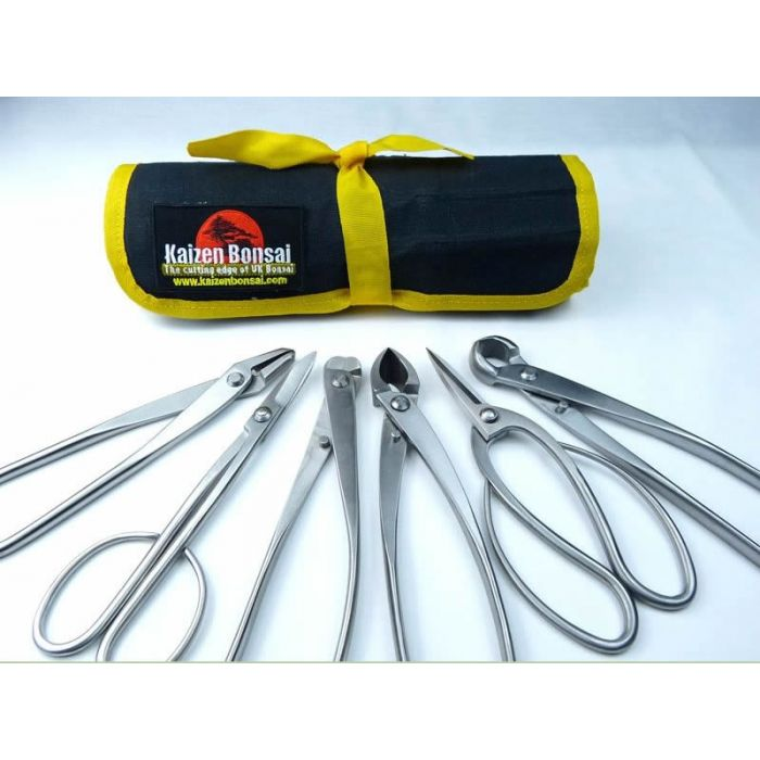 Bonsai Tool Kit 6 Piece Large Stainless Steel Tools