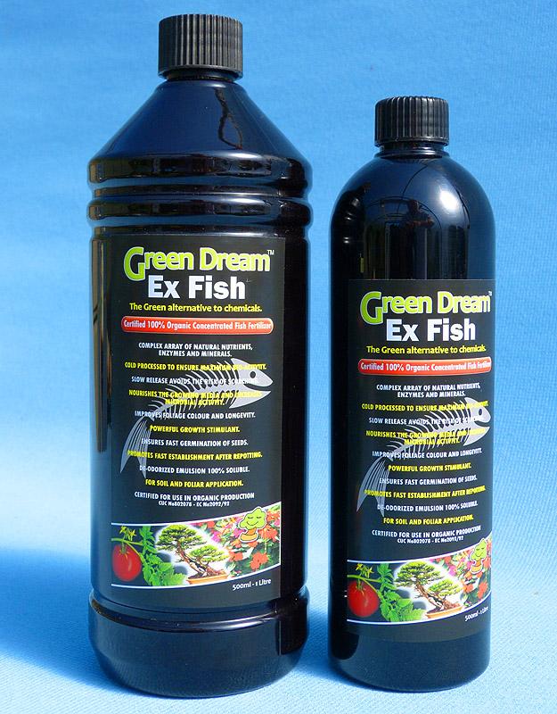 Green dream fish emulsion bonsai fertilizer for What is fish emulsion