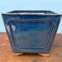 6-8 inch Glazed Bonsai Pots