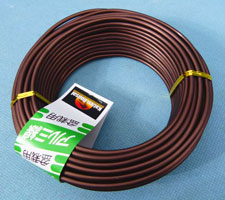 Bonsai Training Craft Wire - Brown Aluminium 500g Coils